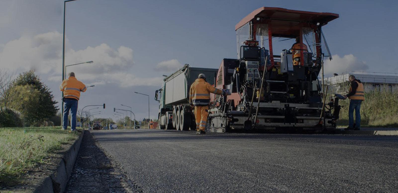 Асфальтирование дорог и площадок комплексное
